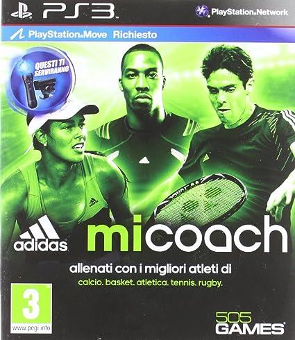 sonido saltar capitalismo  Digital Bros Adidas micoach, PS3 - Juego (PS3, PlayStation 3, Deportes, E  (para todos)): Amazon.es: Videojuegos