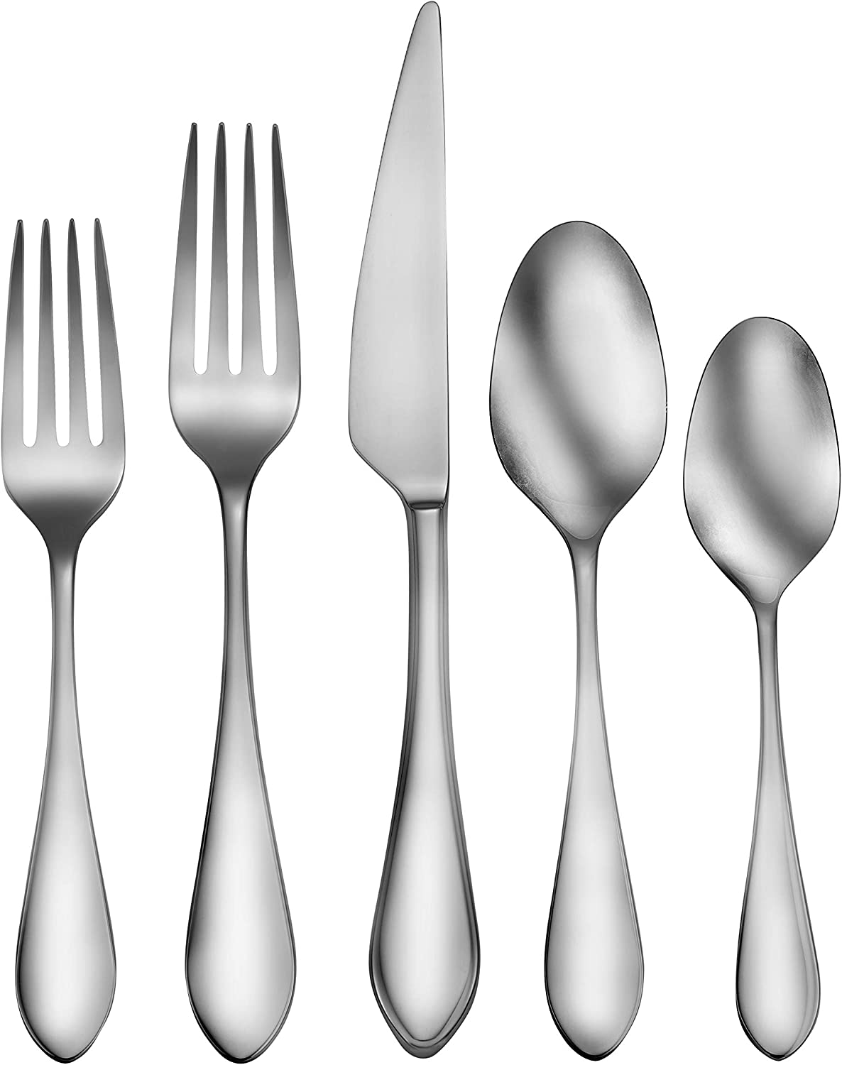CraftKitchen Stainless Steel Flatware Sets (20 Pieces, Kailey), Service for 4