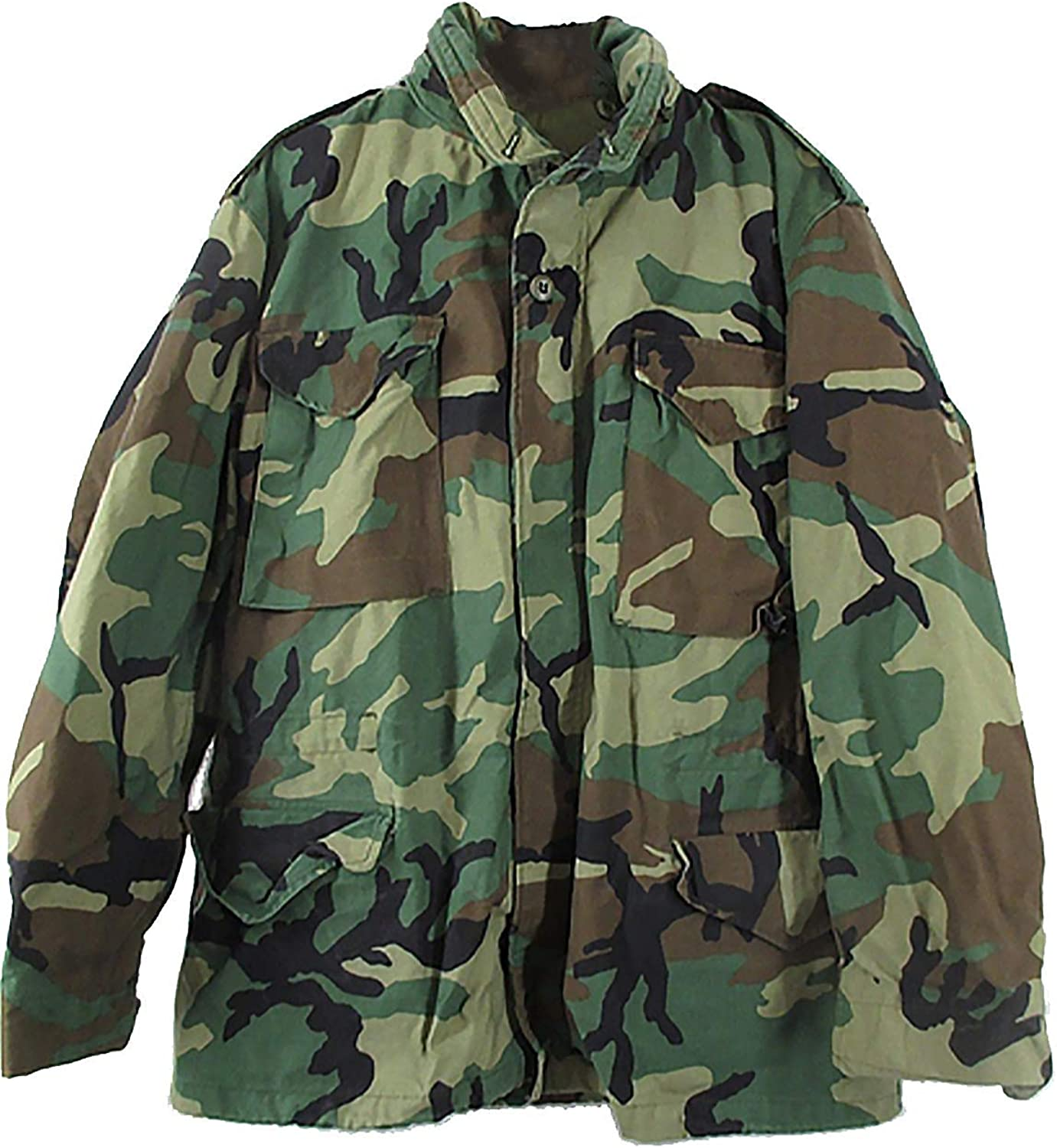 Military Depot U.S Government Issued Woodland M65 Field Jacket