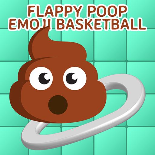 Flappy Poop Emoji Basketball - Dunk Poo Emoji Shot Into Toilet Hoops: Hit A Lot Sports Arcade (Hyper Sport)