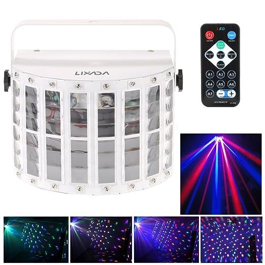 17 opinioni per Docooler 100-240V 24W RGBW LED 6 Canale Dmx 512 vocale Voice-control Controllo