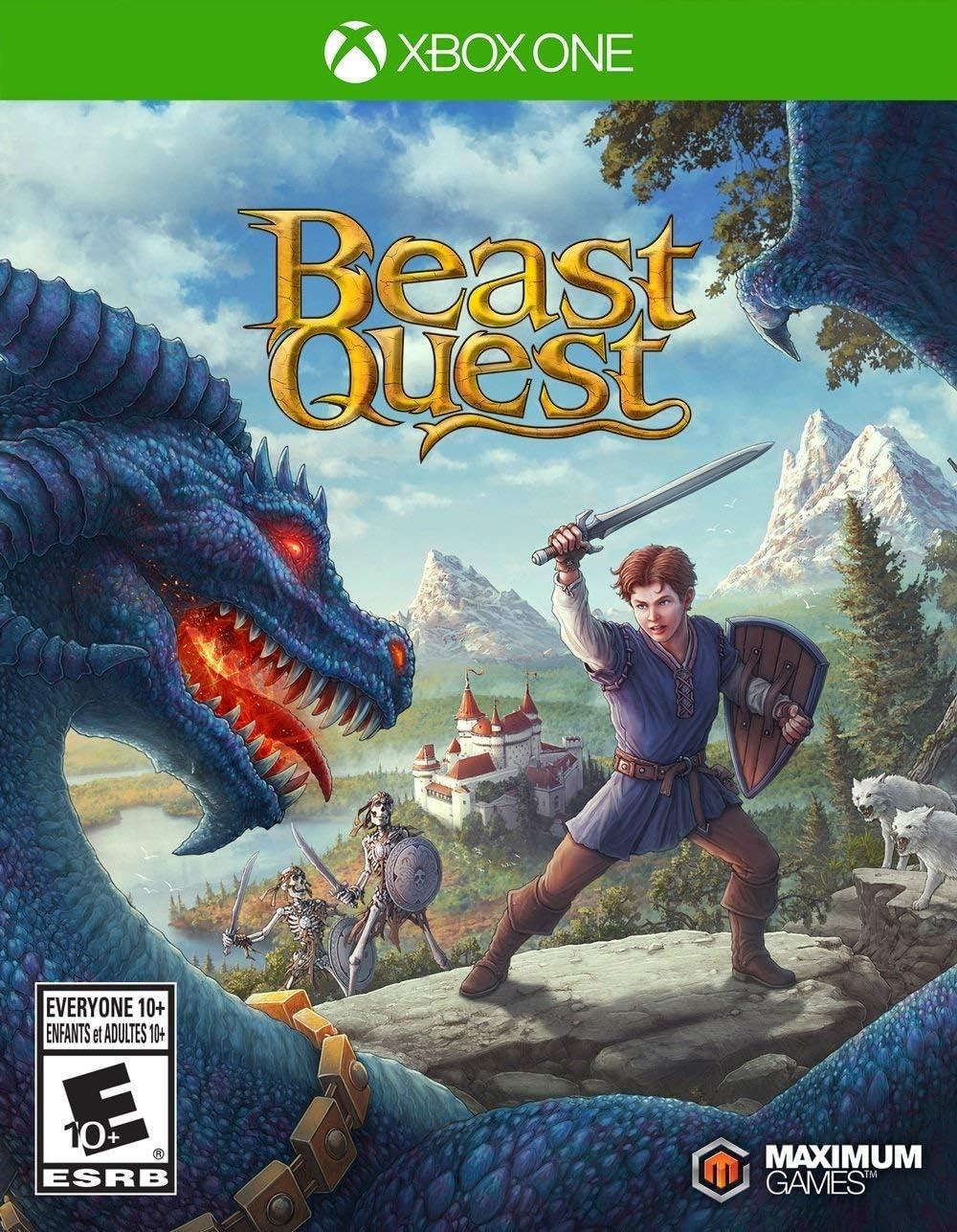 Amazon com: Beast Quest - Xbox One: Maximum Games LLC: Video