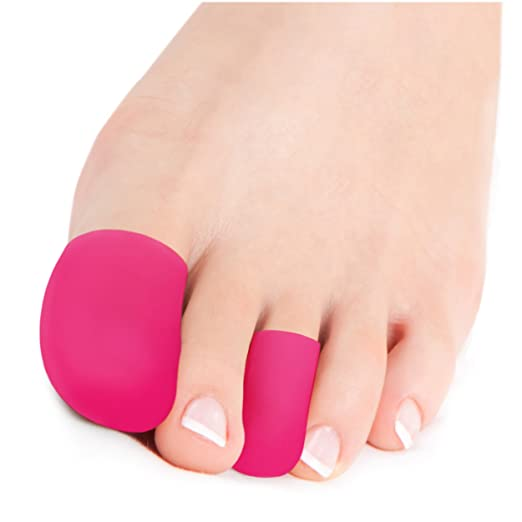 4 opinioni per Squad Goods Cappuccio di protezione al silicone per le punte dei piedi e