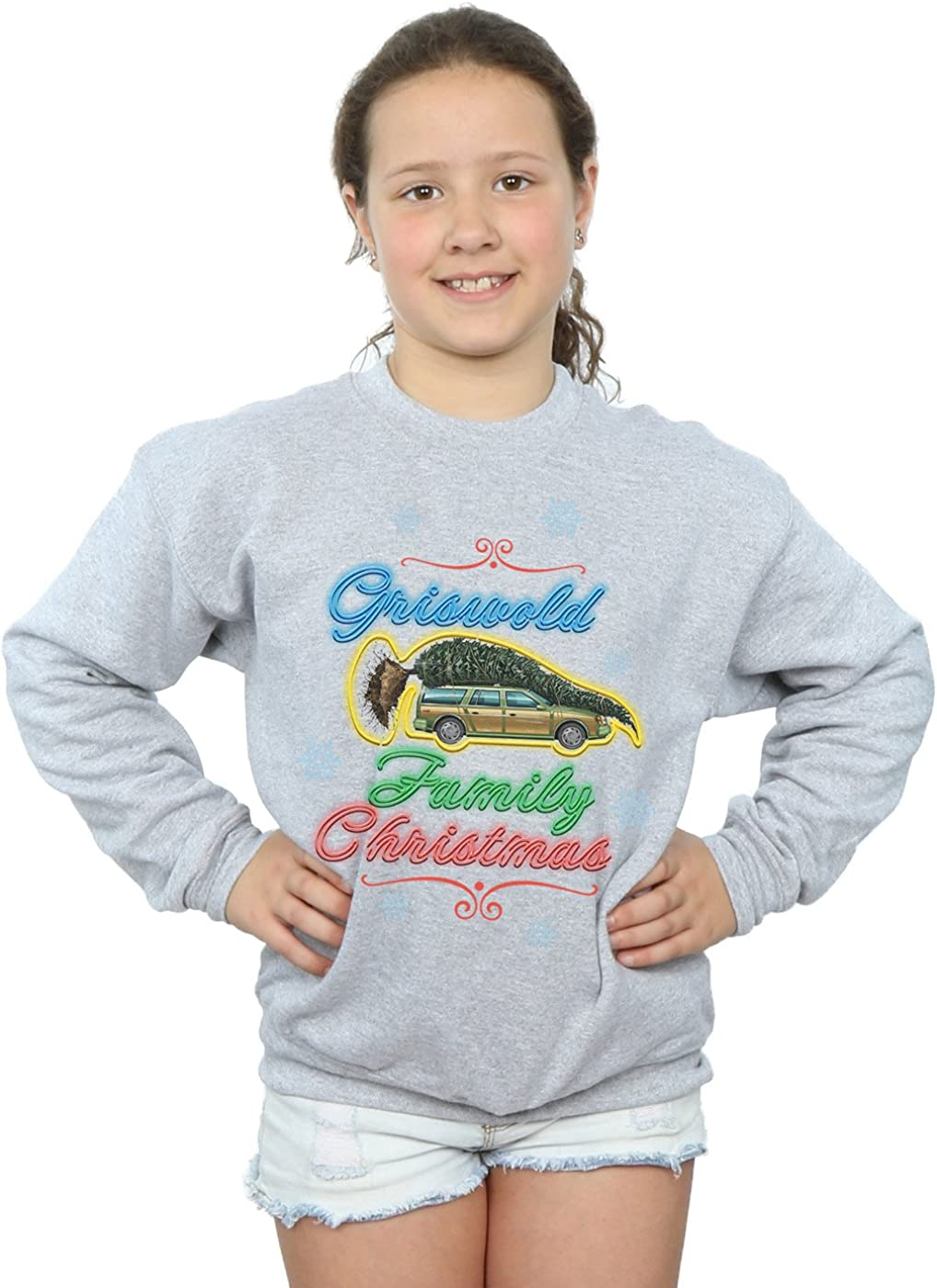 National Lampoons Christmas Vacation Girls Griswold Family Christmas Sweatshirt