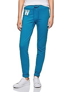oodji Ultra Damen Jersey-Hose im Sport-Stil mit Dekorativen Bindebändern 6f6dee7ca8