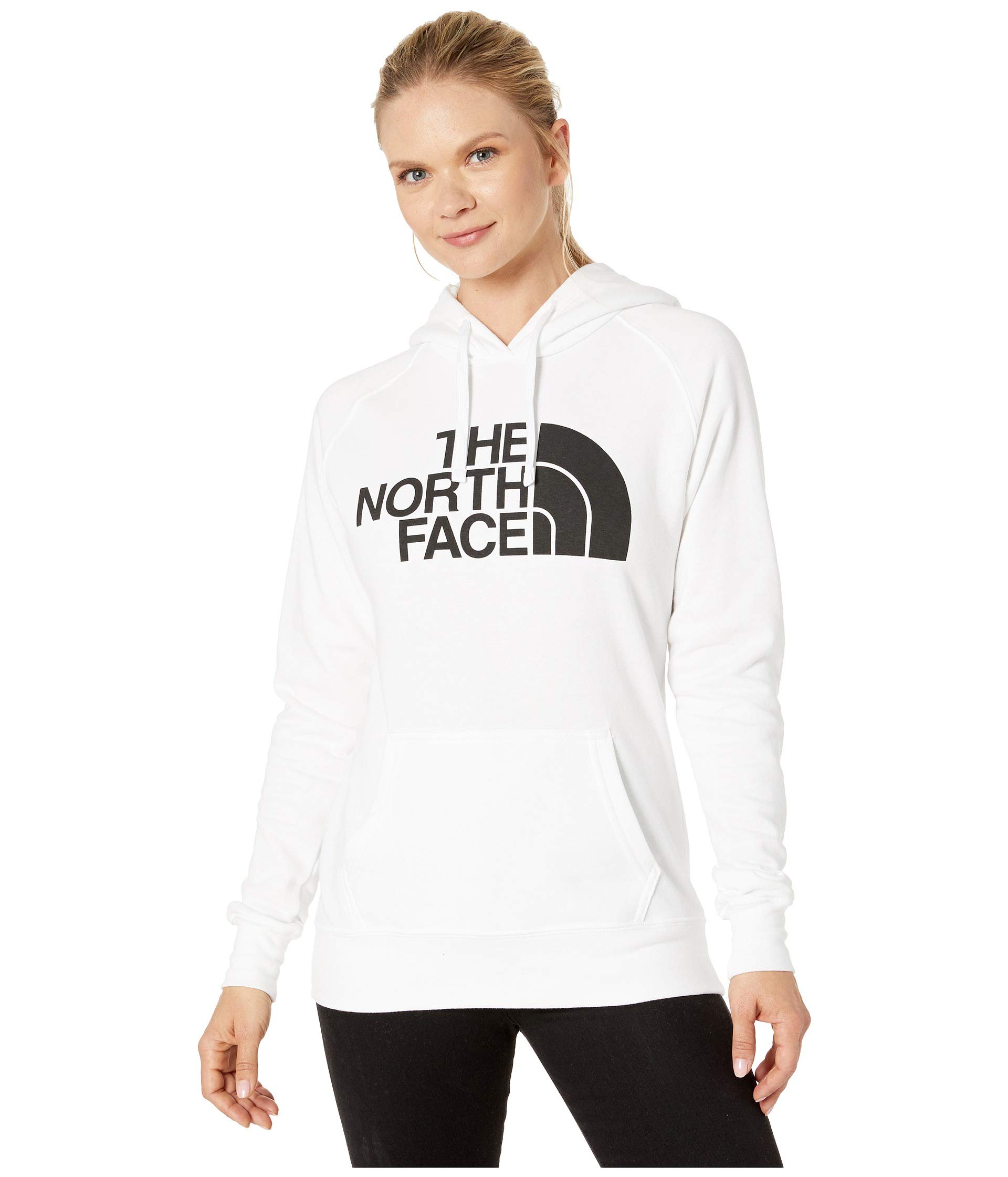The North Face Women's Half Dome Pullover Hoodie TNF White/TNF Black XX-Large by The North Face