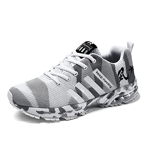 b77812d7bb88 CAGAYA Hommes Femme Chaussures de Course Basket Chaussures de Running  Sports Fitness Outdoor Casual Sneakers Basses