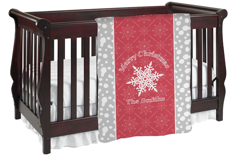 サンタがみそりのベビーブランケット (カスタマイズ可) Baby Blanket レッド mi-baby-blanket-fb+204294 両面  B01KIOOTMC