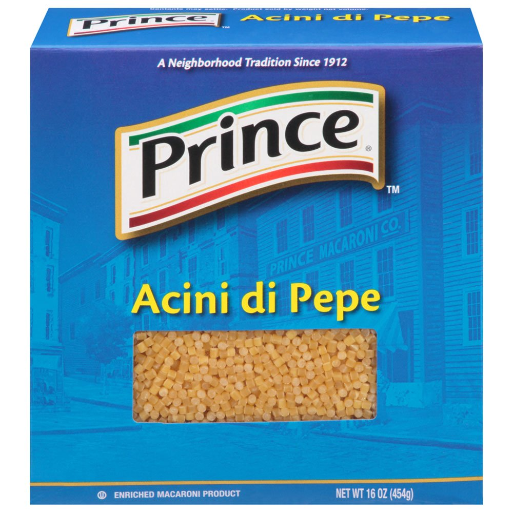 Prince Acini Di Pepe, 16-Ounce (Pack of 12) by Prince