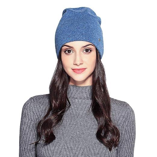 MOOKZZ Winter Knit Beanie Women Slouchy Hat 2c4113a23b1