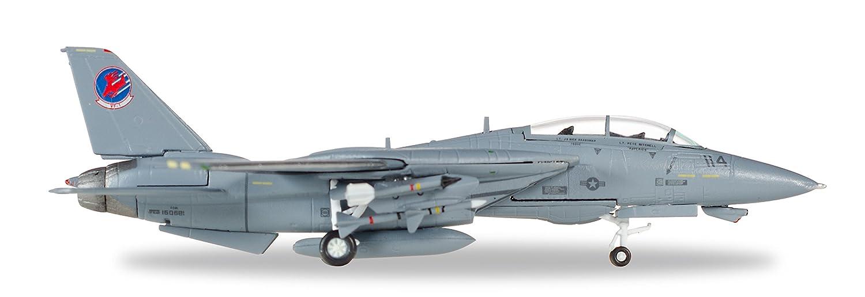 'Herpa 82tsmwtp003–Northrop Grumman F-14A–VF 1# 114Top Gun Movie