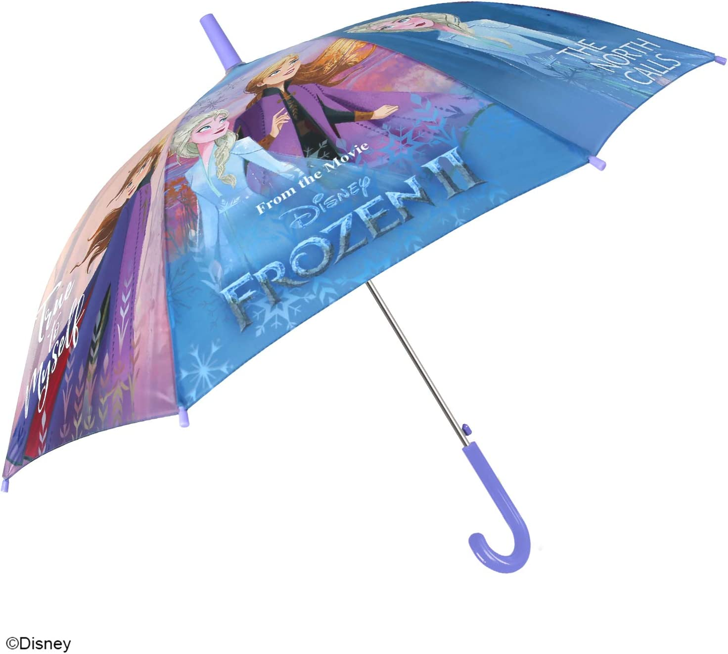 Diam/ètre 85 cm Perletti La Reine des Neiges II Accessoires de Pluie Parapluie Frozen 2 Anna et Elsa Enfants Parapluie Automatique Fillette 6//8 Ans Parapluie Disney Princesse Petite Fille