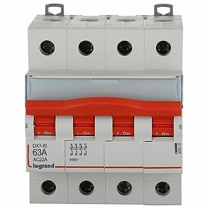 Legrand dx 3 63 amp 4 pole mcb isolator 406520 amazon home legrand dx 3 63 amp 4 pole mcb isolator 406520 asfbconference2016 Choice Image