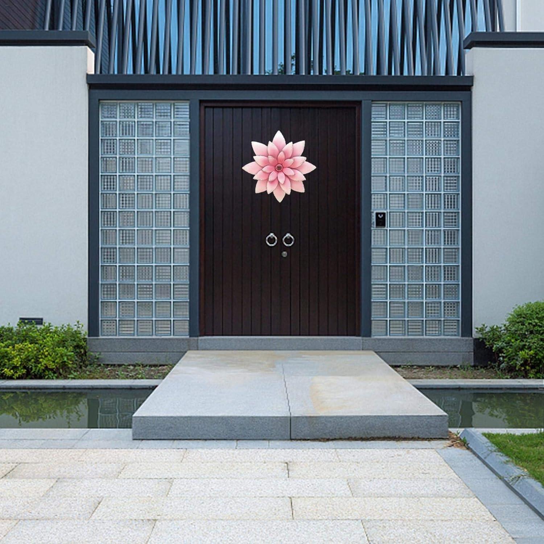 xiangyin Metal Flower Wall Art,Wall Decor Hanging for Indoor ...