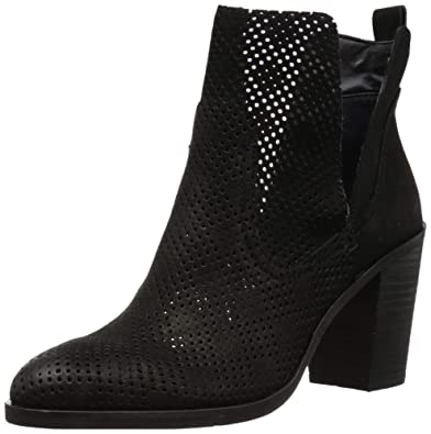 e922ac0027 Amazon.com | Dolce Vita Women's Shay Perf Ankle Boot | Ankle & Bootie