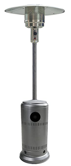 K2Calore Niklas Estufa de Gas para Exterior Gris 218x78x78 cm