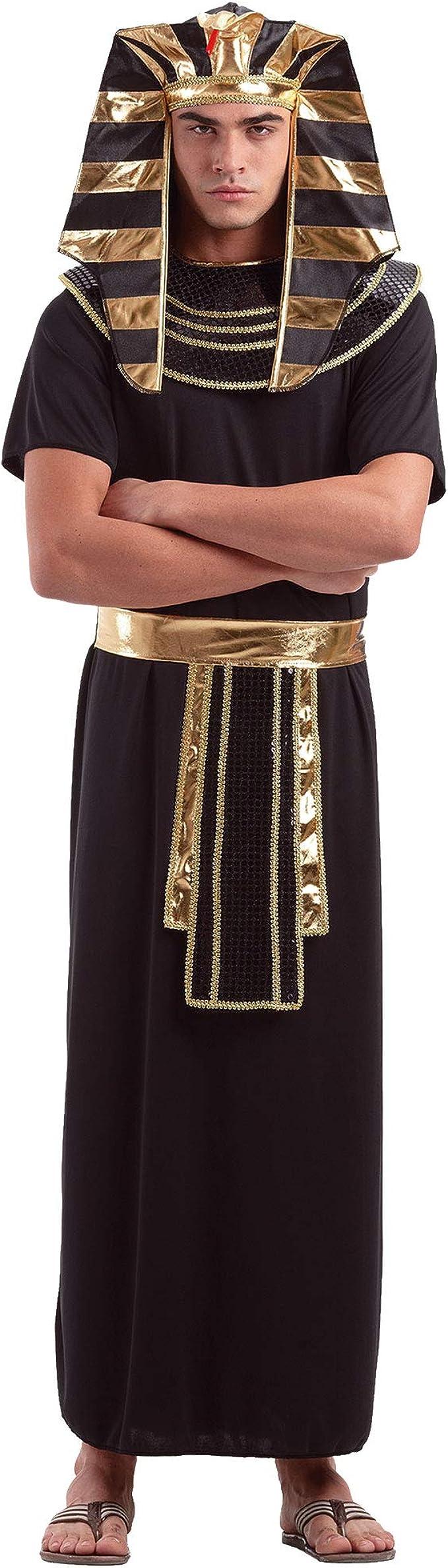 Amazon.com: Disfraz de faraón egipcio para Halloween para ...