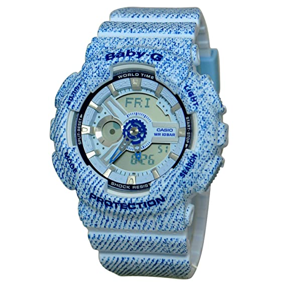 Casio Baby-G ba110dc-2 a3 - Analog-Digital Casual Quartz Reloj: Casio: Amazon.es: Relojes