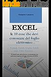 EXCEL le 10 cose che devi conoscere del foglio elettronico: Ti saranno molto utili nel lavoro e ti consentiranno una padronanza inaspettata del foglio elettronico di EXCEL (Excel easy Excel Facile)