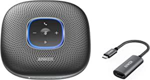 Anker PowerConf & Anker PowerExpand+ Conference Bundle, Bluetooth Speakerphone with Enhanced Voice Pickup and Portable Design, Compact USB C to HDMI Adapter for Travel, Supports 4K 60Hz