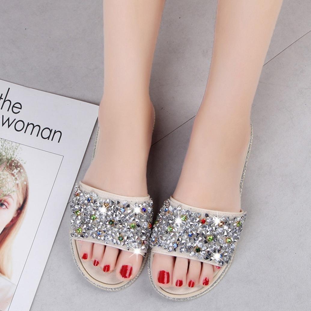 Amazon.com: Dener mujeres verano plana zapatillas Mocasines ...