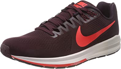 Nike Air Zoom Structure 23, Zapatillas de Entrenamiento para Hombre, Multicolor (Burgundy Ash/Bright Crimson 600), 44.5 EU: Amazon.es: Zapatos y complementos