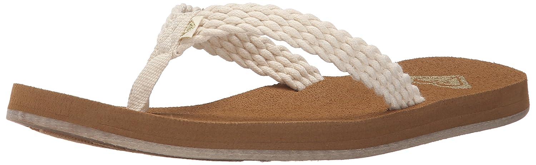 129d2b210c69 Roxy Women s Porto Sandal Flip Flop Cream