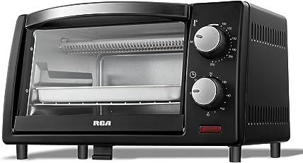 RCA RC09D1 Horno Tostador Eléctrico 9 Litros-Negro