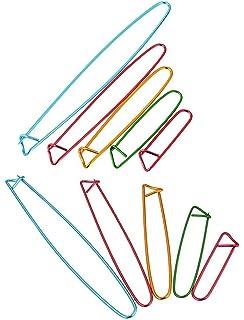 marqueurs /à crochet pince /à aiguille /à tricoter pour travaux manuels avec bo/îte de rangement marqueurs /à tricoter 10 couleurs Lot de 120 marqueurs de mailles /à crochet