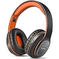 Trådlösa hörlurar över örat, WorWoder [80 timmars speltid] Bluetooth-hörlurar, hopfällbar Hi-Fi-stereo, mjuka öronmuffar…