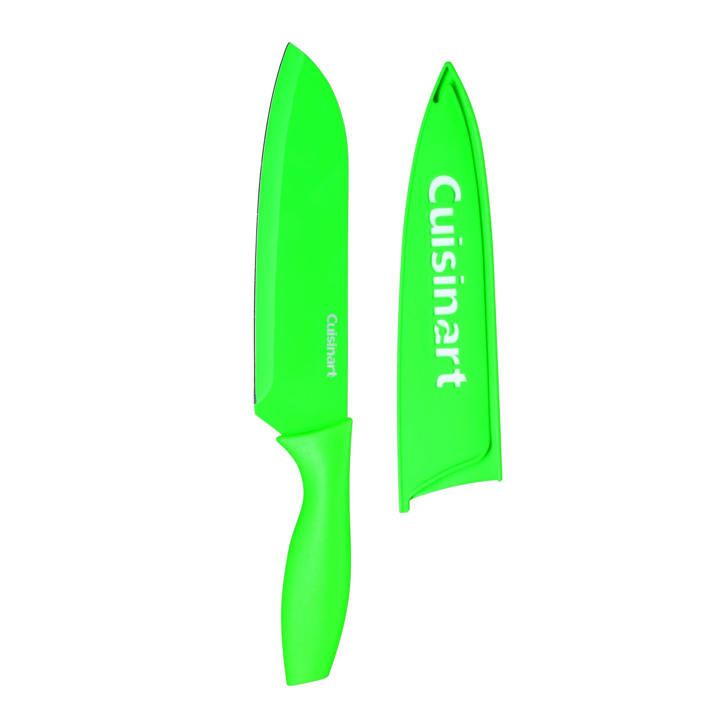 Cuisinart C55CNS-7SANG Advantage Color Collection 7'' Santoku Knife, Green