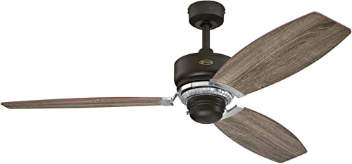 Westinghouse Lighting 7207600 Thurlow 54-inch Weathered Bronze Indoor Ceiling Fan, 1 Pack