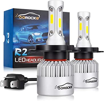Mazda 2 DE White LED /'Trade/' Wide Angle Side Light Beam Bulbs Pair Upgrade