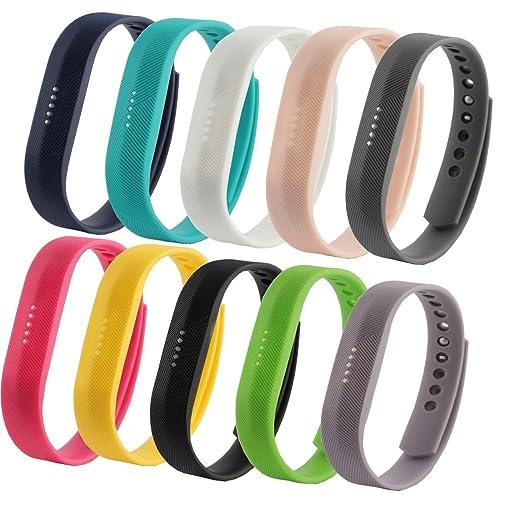 4 opinioni per Cinturino di ricambio Fit-power per Fitbit Flex 2, taglia piccola e grande