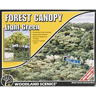 Light Green Forest Canopy Woodland Scenics: Toys & Games