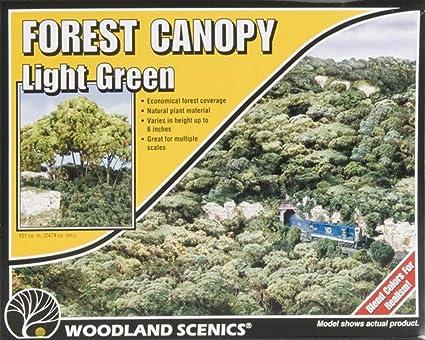 Medium Green Forest Canopy Woodland Scenics
