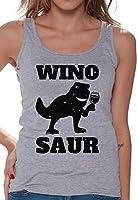 Awkward Styles Women's Wino Saur Wine Tank Tops Black Cool Vintage Winosaur