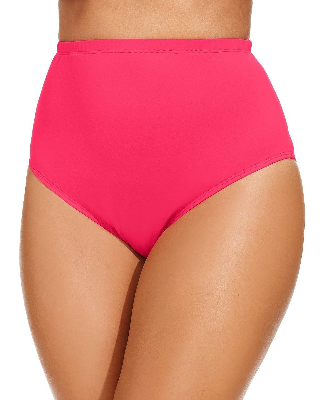 La BlancaピンクプラスサイズClassic Brief Swim Bottomサイズ20 W B01C87DB5S