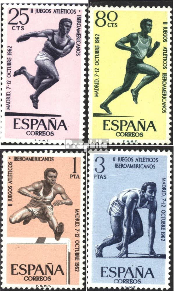 Prophila Collection España Michel.-No..: 1342-1345 (Completa.edición.) 1962 Athletic Juegos (Sellos para los coleccionistas) Otros Deportes: Amazon.es: Juguetes y juegos