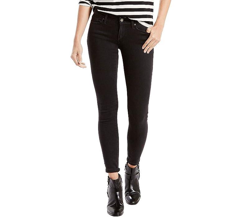 Levi's Womens Women's 711¿ Skinny Soft Black Jeans