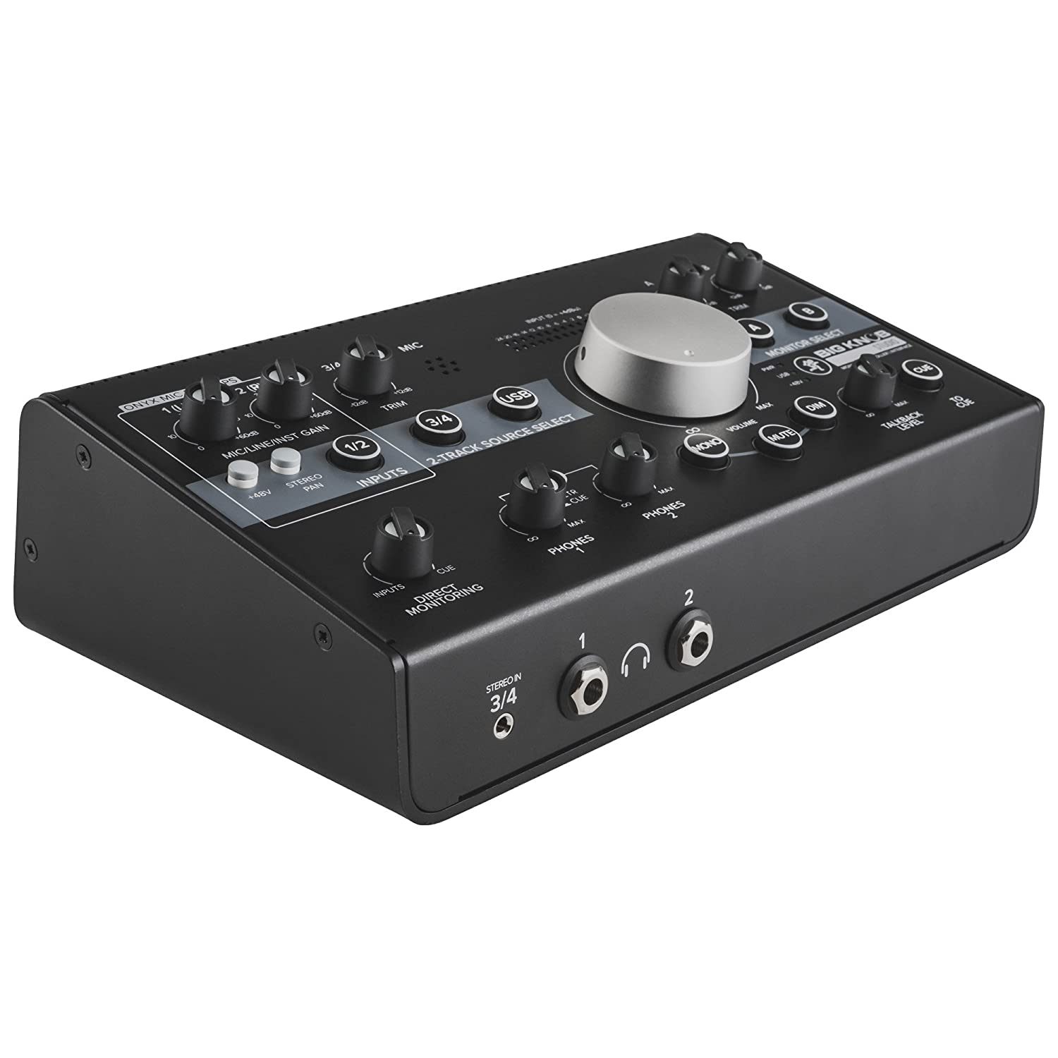 Mackie Big Knob Studio Monitor Controller and Interface with 1 Year EverythingMusic Extended Warranty Free Loud Technologies Inc.