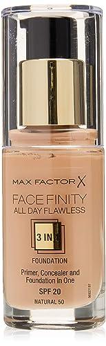 """Max Factor Facefinity – Il Fondotinta """"Tre in Uno"""""""