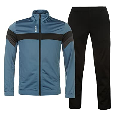 ee9c799bf5f7 Reebok EL TS Tricot 2 Piece Tracksuit Set Mens  Amazon.co.uk  Clothing