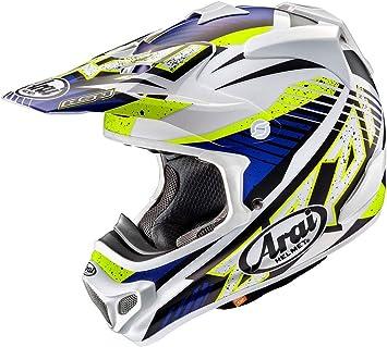 ARAI MX-V - Casco de Motocross (Talla XS), Color Azul