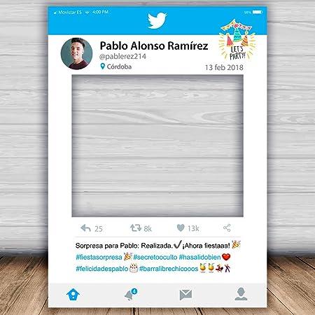 setecientosgramos Photocall Twitter| Ventana Twitter| Marco ...