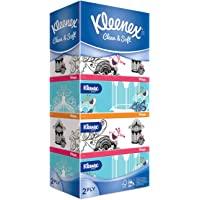 Kleenex Ultra Soft Facial Tissue 2 PLY, Classic, 150ct (Pack of 5)