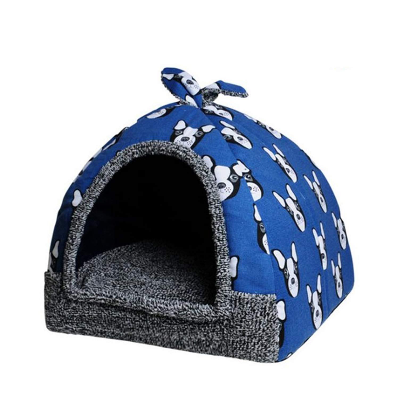 bluee XL bluee XL sgtrehyc SGT® Soft Pet Bed Puppy Dog Mat Small Animals Home
