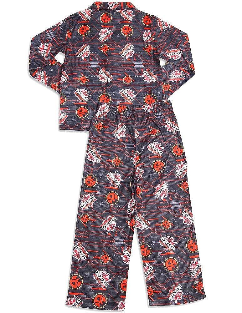 Little Boys Long Sleeve Bakugan Pajamas Black 31246-4//5 Bakugan