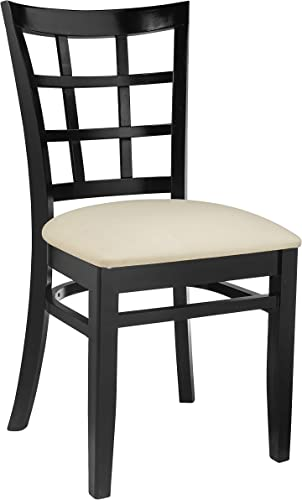 Beechwood Mountain BSD-17S-B Solid Beech Wood Side Chair