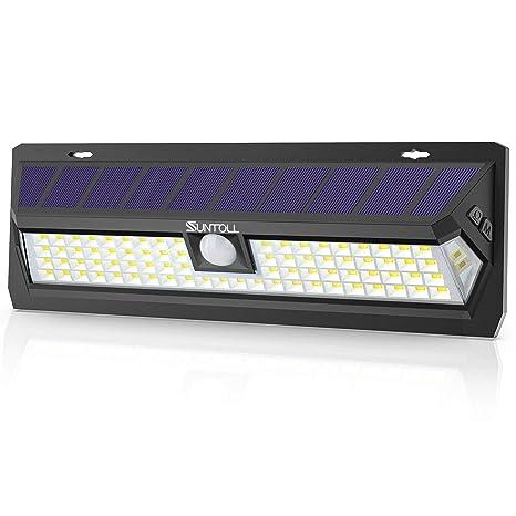 Amazon.com: Luces solares SUNTOLL al aire libre, 80 luces ...